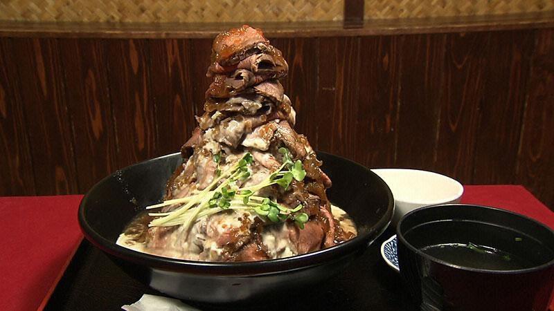 フジテレビ「とくダネ!」吉祥寺ローストビーフ丼・牛かつ「GYU-GYU」